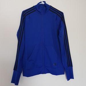 Adidas Climalite Royal Blue track jacket